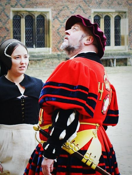 Historical Building, Dress Up, Henry VIII and Bewilderness - it can only be the UK - My Country In A Photo