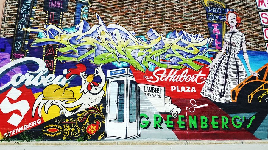 Multi Colored No People Day Outdoors Close-up Art Graffiti Letters Colour Mural Wall Street Art Sun City Life Collectivity