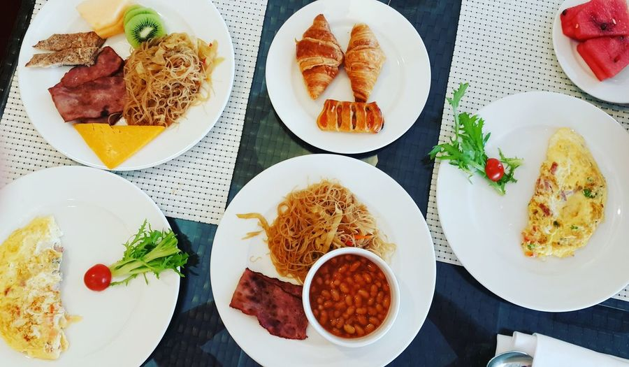 Breakfast buffet at Fraser Suites Hotel Dubai, United Arab Emirates Food And Drink