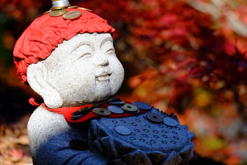 Orange Color Red Color Japan Photography JP Fujifilm_xseries Japanese Temple Japan お地蔵さん Ksitigarbha