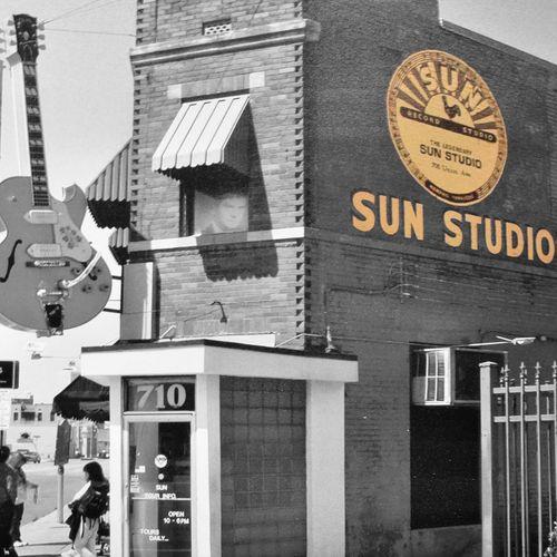 Sunstudio SunRecords Blackandwhite Photography Black And White Photography Elvis Elvis Presley Johnnycash Johnny Cash