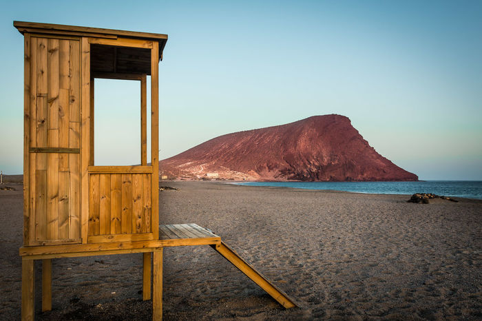 Montaña Roja SPAIN Spagna Canarie Canary Islands Beauty In Nature Day Water Sky Outdoors Tranquility No People Tenerife Tejita Médano