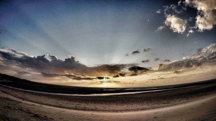 Sunset t zwin!! Zeeland  Zwin Cadzand Travel Traveling Nature Gopro Goprohero4 Beach