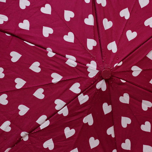Pattern, Texture, Shape And Form Rain Rainy Days Red Backgrounds Full Frame Heart Heart Shape Heart ❤ Hearts Pattern Patterns Patterns & Textures Red Red Color Repetition Textile Umbrella Umbrellas Wet