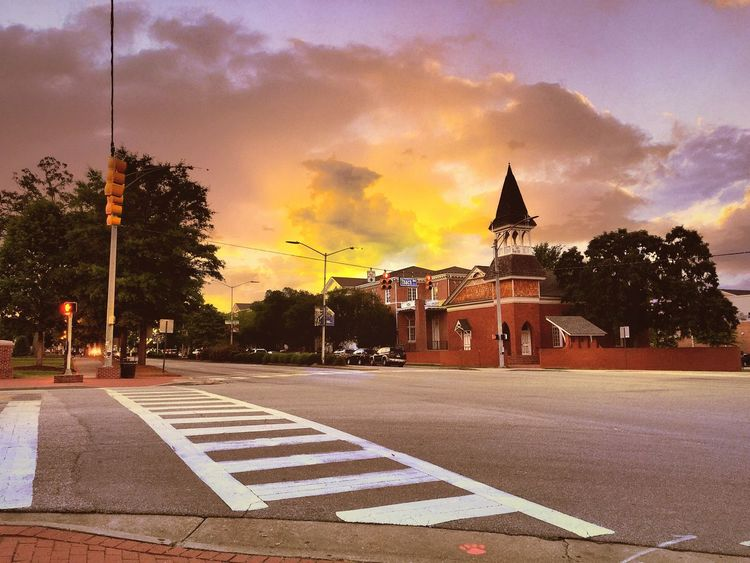 Auburn University Alabama Auburn University Auburn, Alabama Autumn City Fall Fall Beauty Sky First Eyeem Photo