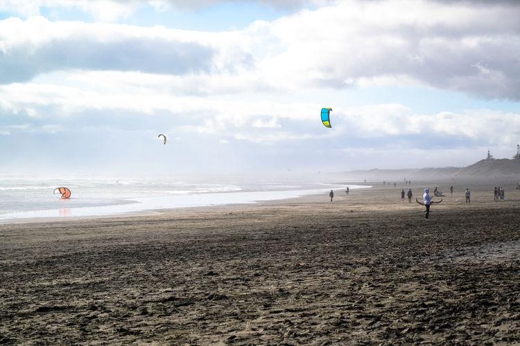 Kitsurfing Adventure Beach Cloud - Sky Day Kiteboarding Kitsurf Landscape Outdoors People Sand Sea Sky Sport Water Watersports Wind