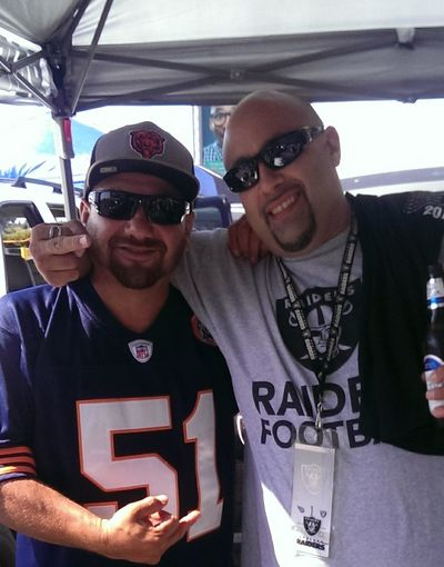 That's Me✌️ Enjoying Life With My Friends Raiders Game. Raider Nation