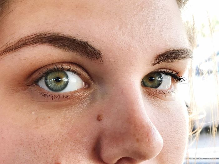 EyeEm Selects Human Eye Looking At Camera Portrait Close-up Human Face One Person Childhood Human Body Part Front View Headshot Eyebrow Eyesight People Eyelash Children Only Eyeball Young Adult Day Hazel Eyes  Outdoors