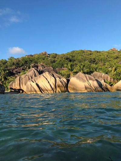 Seychelles EyeEm Selects Sky Water Blue Clear Sky Nature Beauty In Nature