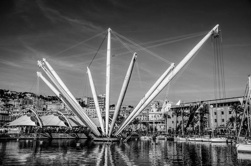 Genova -La Superba- Porto La Superba Genova Nature No People Outdoors Transportation Bridge Travel Destinations
