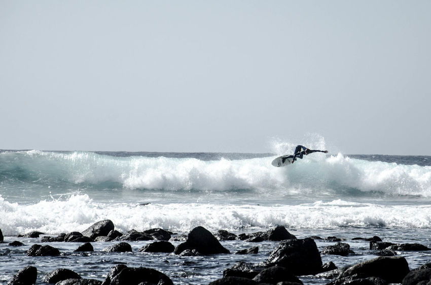 Canary Islands Lanzarote Surfing The Action Photographer - 2015 EyeEm Awards Surf's Up The KIOMI Collection