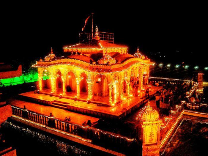 Diwali Temple Peace