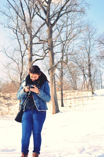Winter ❄️ Snow Photographing New York City New York Tourism The Week On EyeEm Vacations Central Park Photographer Travel Destinations