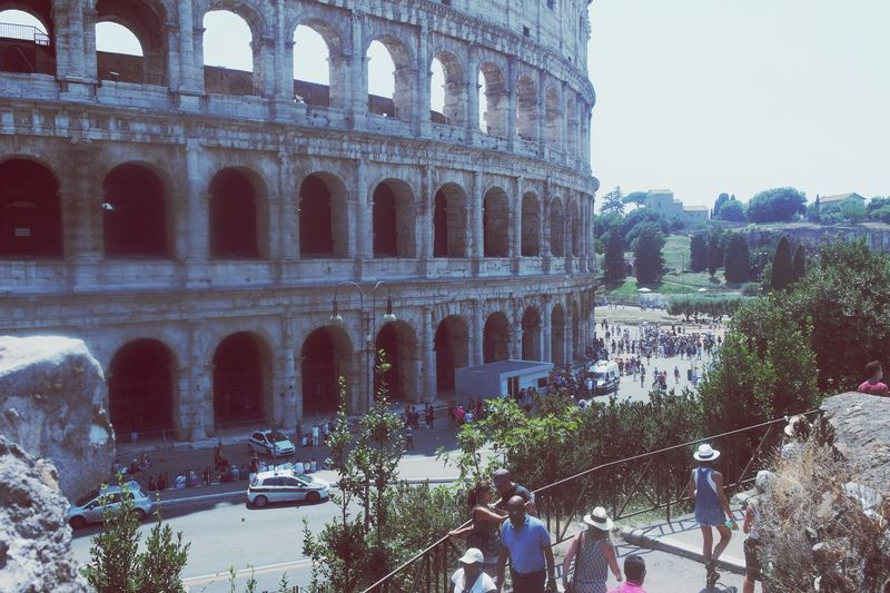 When I went to Italy. Italy Holidays Collisum Architecture Amazing View Historical Building Colosseum