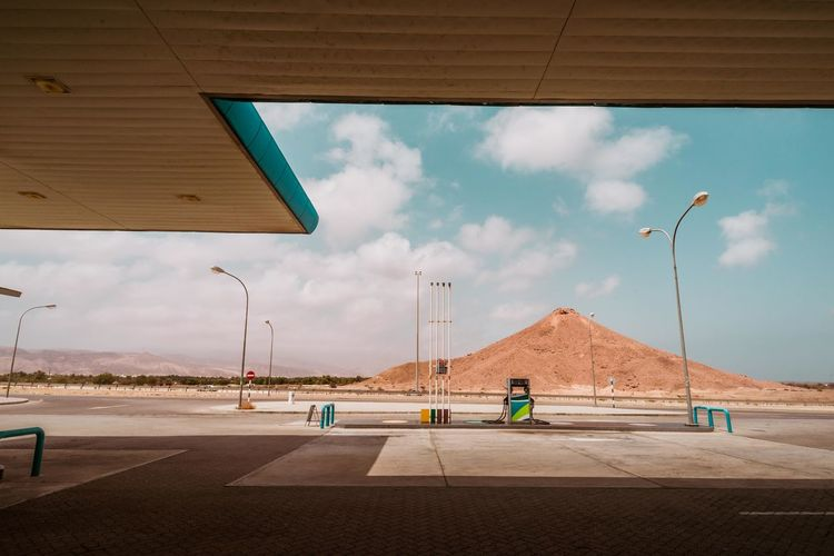 Oman Chapters Cloud - Sky Sky Road Nature Day Architecture Street Light Street Transportation Built Structure Sign Outdoors Symbol Road Marking Marking Building Exterior Sunlight City No People Asphalt Concrete