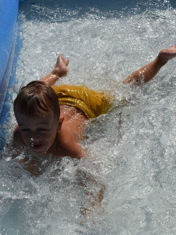 Water Child Childhood Boys Men Real People Males