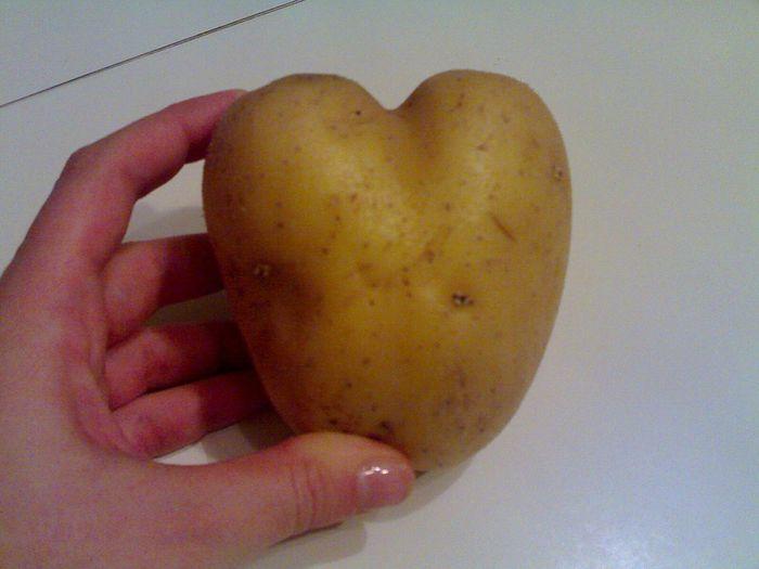 Strange Potato Potato Strange Strange Food Food Heart ❤ Heart Heartshape