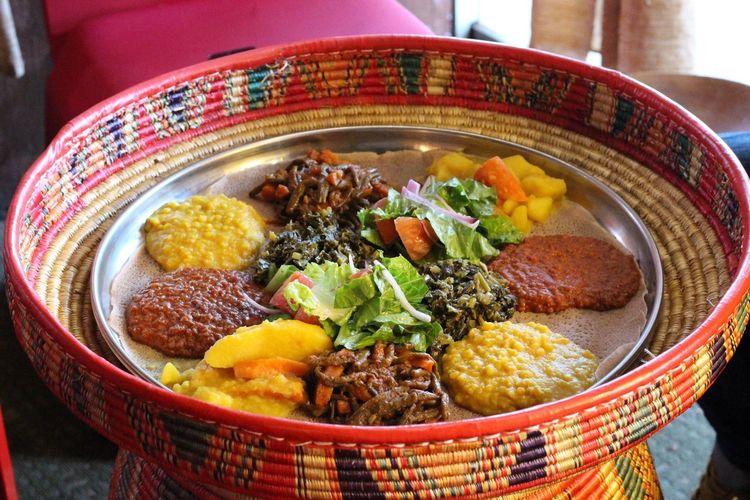 Healthy Eating Food And Drink Ready-to-eat Ethiopian Food Cusine Food African Vegan Vegetarian Ethiopia Ethiopian