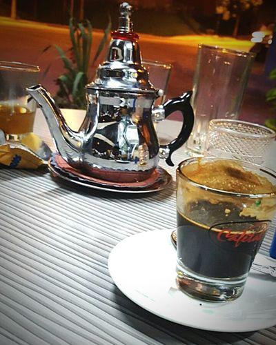Café Noir and Brad atay /tea