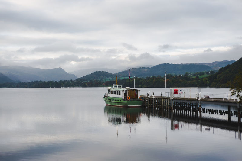 Lake District Ullswater Beauty In Nature Cloud - Sky Day Lake Mode Of Transportation Mountain Mountain Range Nature Nautical Vessel No People Non-urban Scene Outdoors Passenger Craft Reflection Scenics - Nature Sky Tranquil Scene Transportation Travel Water Waterfront