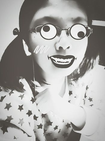 old photo……created by my friend…… hope don't scare you.. Joke Spoof Details Of My Life