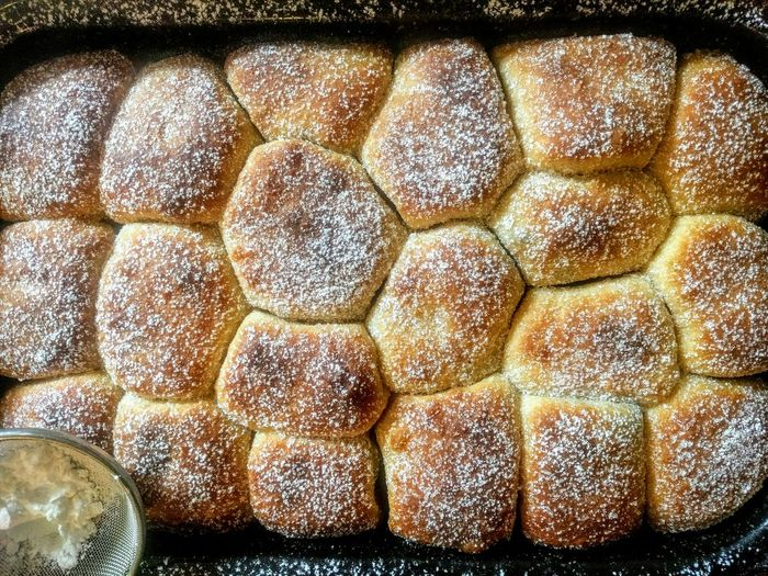 Sourdough buns filled with poppy seeds Bake Jedlo Yummy Food Dough Kneading Dough Icing Sugar Dust Poppy Seeds Kvaskove Buchty Sourdough Starter Holiday Banking Spelt Flour Natural Naturally Leavened Wild Yeast Kvasok Pecene Makove Baked Homebaked Buns EyeEm Selects Freshnesss EyeEm Gallery Sourdough Homemade Buchty Food Sweet Sweet Buns Close-up