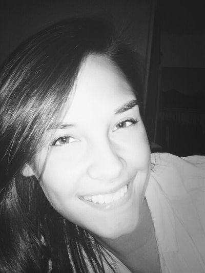 Black&white #nomakeup #selfie I <3 Me