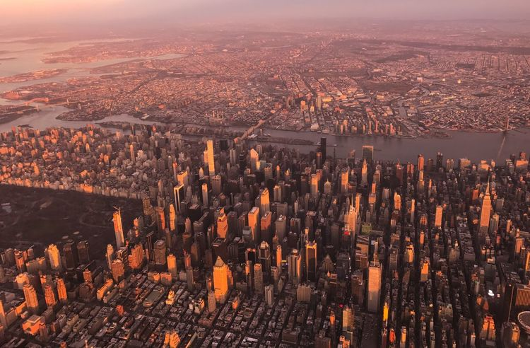 New York City from above Air Plane Birds Eye View Travel New York City Buildings Sun Set Cityscape No People Outdoors Travel Destinations Aerial View City Nature Day Architecture Sky Colour Your Horizn Stories From The City EyeEmNewHere The Architect - 2018 EyeEm Awards