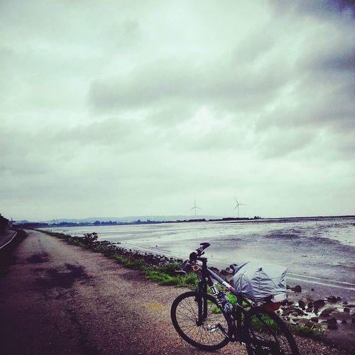 單車環島2013年4月一個人環島行的最後一天留念。