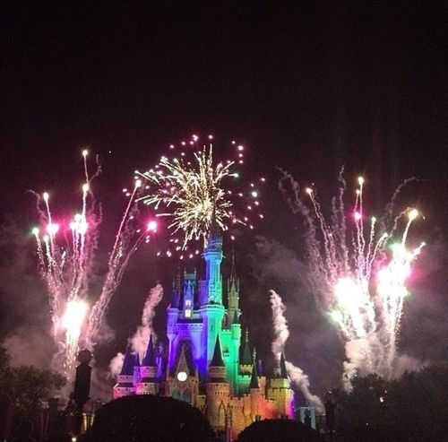 Happy Independence Day 4th Of July Fireworks Walt Disney World