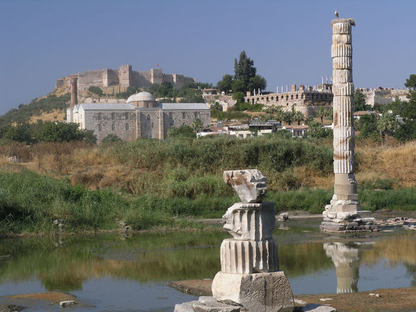 Ancient Ancient Architecture Ancient Civilization Ancient Roman Ancient Ruins Artemis Artemisa Artemision Column Ephesus Temple Temple Of Artemis Turkey UNESCO World Heritage Site World Heritage
