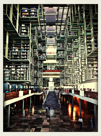 Biggest library in Latin America. Worth visiting Cool Places