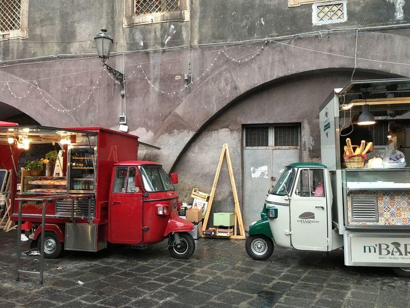 Truck Food Street Photography Catania Street Market Sicily Sicilian Food Truck