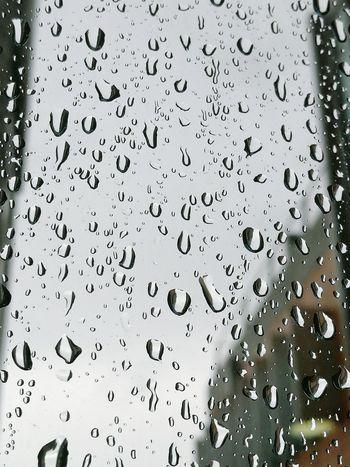 капли дождя капли на стекле капли Дождь Rainy Day Indoors  Drop Rain Window Rainyday ..