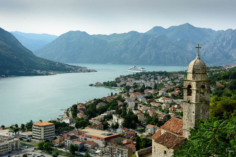 Architecture City Cityscape Day High Angle View Kotor Kotor Bay Kotor, Montenegro Montenegro Mountain Outdoors Sea Sky Travel Travel Destinations Water
