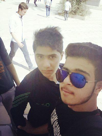 بغداد ❤ Taking Photos Selfy♥ With Friends In School