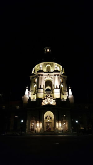 Architecture Built Structure Building Exterior Spirituality Religion Illuminated Night Place Of Worship Travel Destinations History Low Angle View Dome Church Façade Arch Tourism Famous Place Dark National Landmark Arched