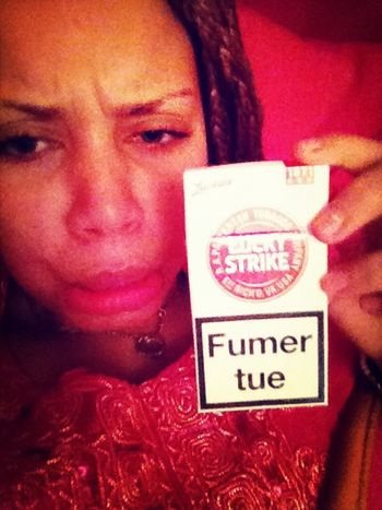 Envie de fumer mais je peu pas :(