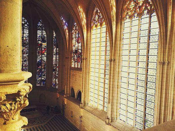 Castle Church Architecture Paris France Old Buildings Building