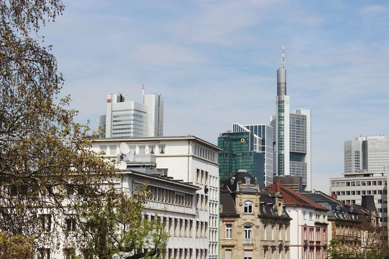Architecture City Modern Sky Building Frankfurt No People Gutleutviertel Frankfurt Am Main Streetphotography Skyscraper Tower Skyline