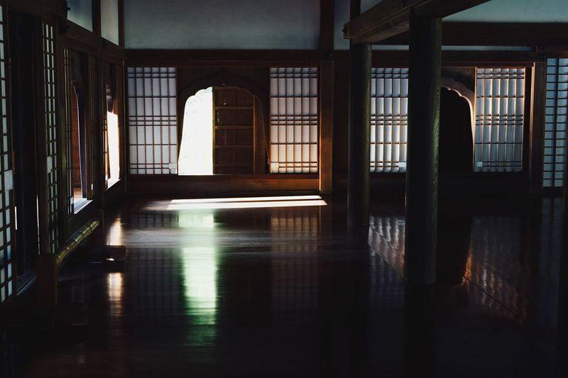 Interior of house