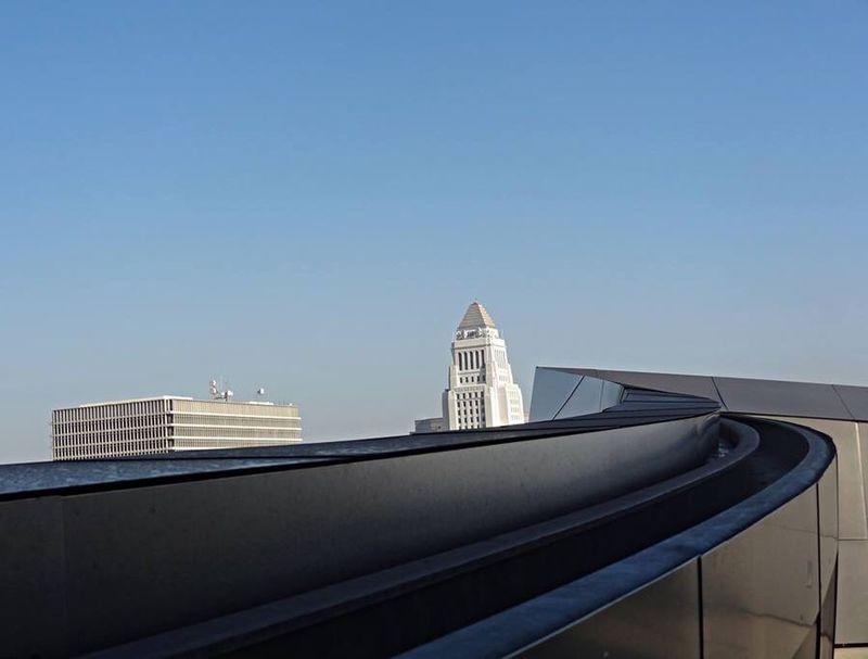 City Hall downtown LA Frank Gehry Disney Hall