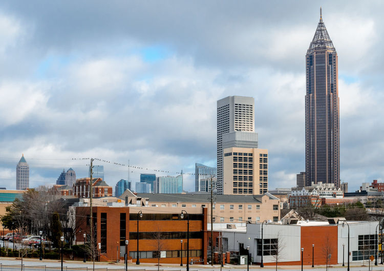 Cityscape Georgia Skyline USA Architecture Atlanta Building Building Exterior Built Structure City Cityscape Cloud - Sky Modern No People Office Skyscraper Tall - High Tower Travel Travel Destinations