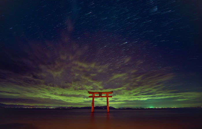 Gate to Heaven Sky Night Star - Space Scenics - Nature Long Exposure Nature Beauty In Nature Star Galaxy Water
