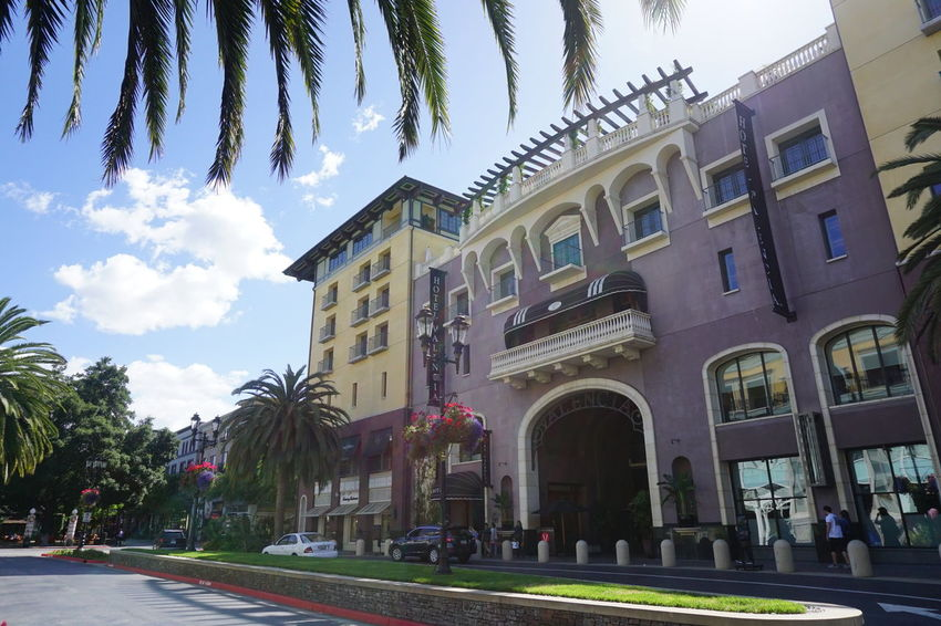 picture perfect Architecture Sky Cloud - Sky Building Exterior Travel Destinations Business Finance And Industry Low Angle View No People Tree Outdoors Day California Santa Clara Santana Row Neighborhood Map