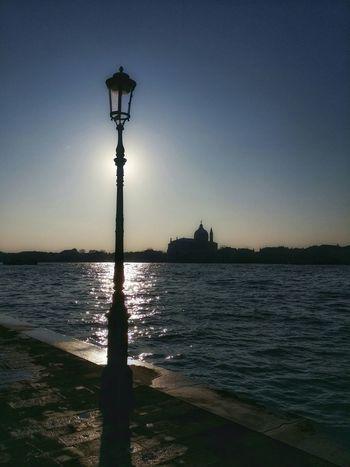 Early Morning Walks Early Bird Venice, Italy Showcase: December Backlight Skylines Street Light Poles Water Reflections Water Ripples Long Shadows