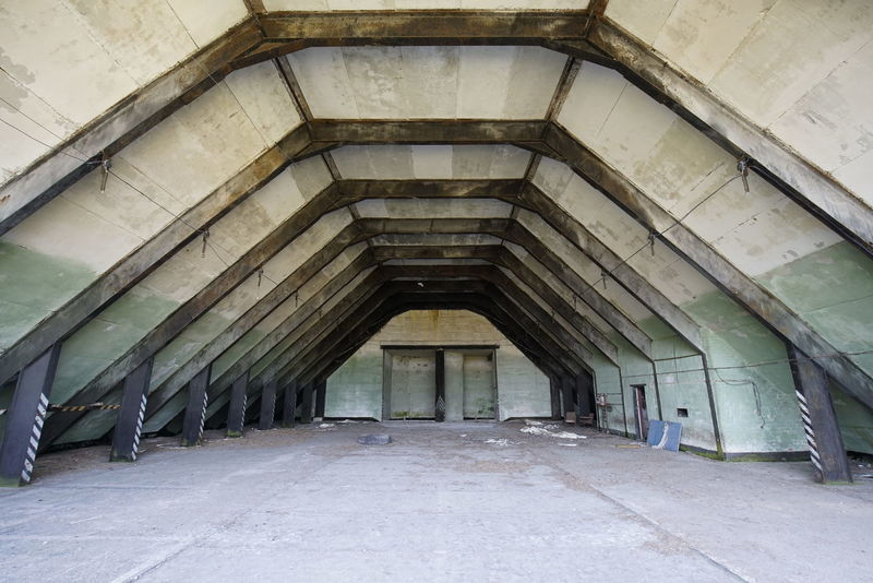 Bunker DDR GDR Architecture Built Structure Cold War Relic Day Flugzeugbunker Indoors  No People Nva The Way Forward