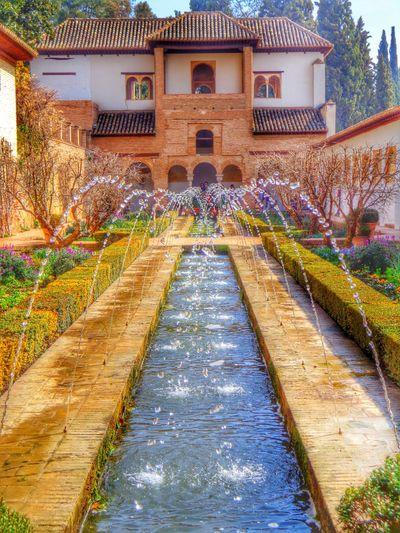 SPAIN España🇪🇸 History Granada Alhambra Mobileart Water Colors Andalucía