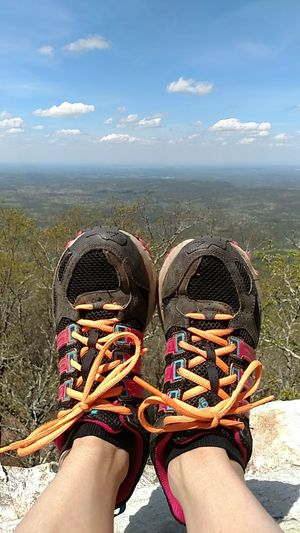 Riding North Mt. Cheaha State Park Bald Rock Top Of Alabama Love My Adidas