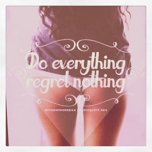Quota Do things you want with no regrets